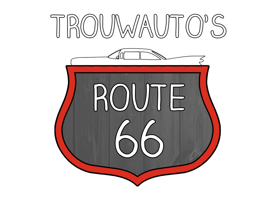 Trouwauto's Route66